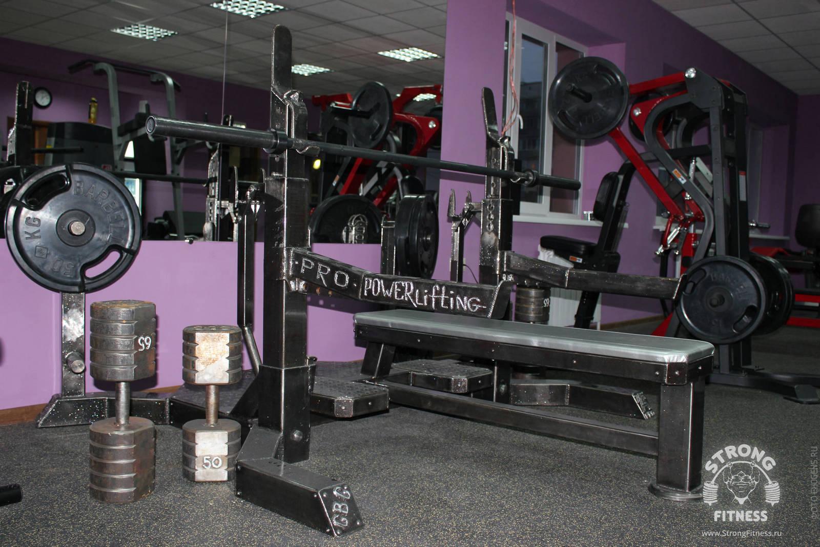 Фотографии тренажерного зала